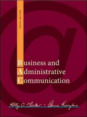 Business and Administrative Communication (Hardback)