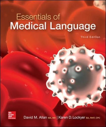 Essentials of Medical Language (Paperback)