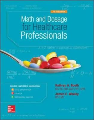 Math and Dosage Calculations for Healthcare Professionals (Paperback)