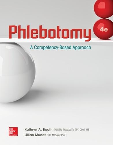Phlebotomy: A Competency Based Approach (Paperback)