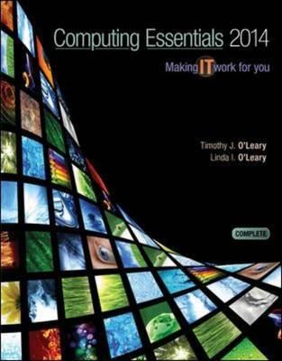 Computing Essentials 2014 Complete Edition (Paperback)