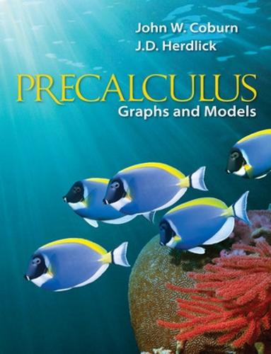 Precalculus: Graphs & Models (Hardback)