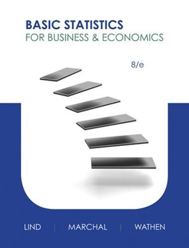 Basic Statistics for Business and Economics (Hardback)