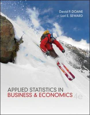 Applied Statistics in Business and Economics (Hardback)