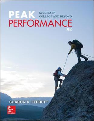 Peak Performance: Success in College and Beyond (Paperback)