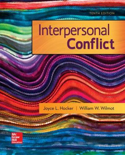 Interpersonal Conflict (Paperback)