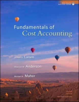 Fundamentals of Cost Accounting (Hardback)