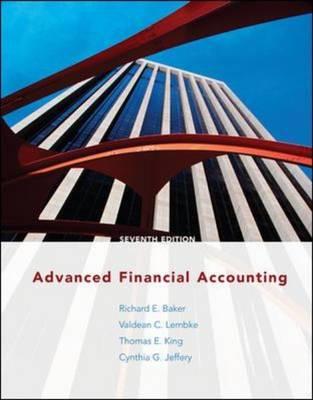 Advanced Financial Accounting (Hardback)