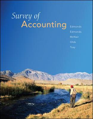Survey of Accounting (Hardback)