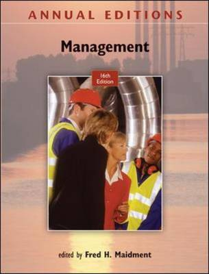 Annual Editions: Management - Annual Editions (Paperback)