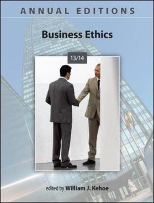 Business Ethics 2013-14 - Annual Editions (Paperback)