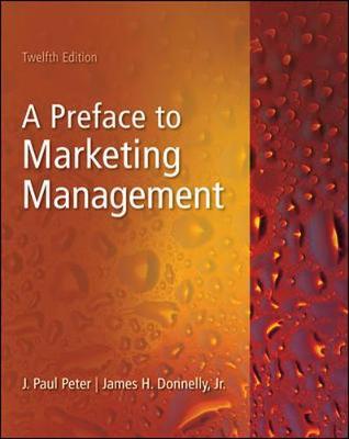 Preface to Marketing Management (Paperback)