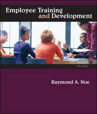 Employee Training and Development (Hardback)