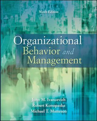Organizational Behavior and Management (Paperback)