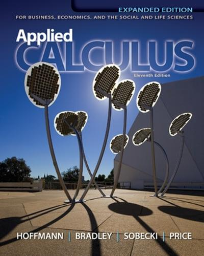 Applied Calculus for Business, Economics, and the Social and Life Sciences, Expanded Edition, Media Update (Hardback)