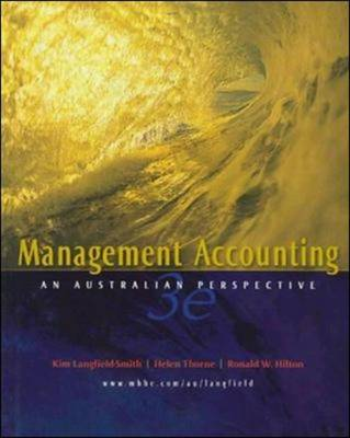 Management Accounting: An Australian Perspective (Paperback)