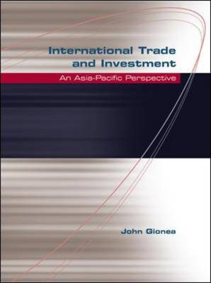 International Trade and Investment (Paperback)