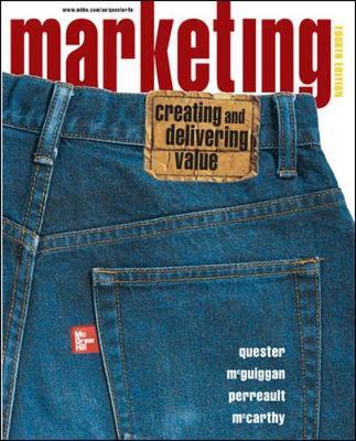 Marketing: Creating And Delivering Value (Paperback)