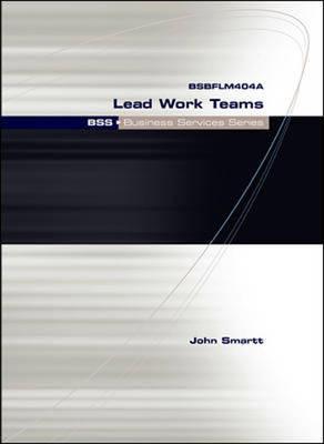 Bss Lead Work Teams (Pxp) (Paperback)