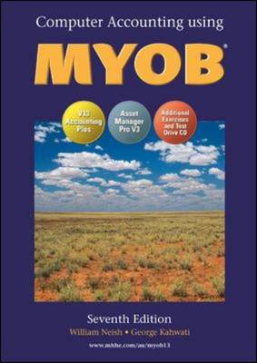 Computerised Accounting Using MYOB V.13.1 (Hardback)