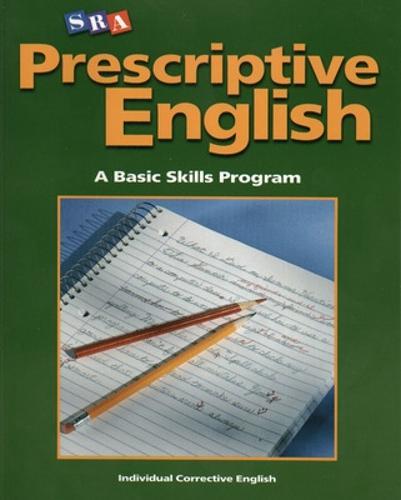 Prescriptive English, Student Edition Book A - INDIVIDUAL CORRECTIVE ENGLISH (Paperback)