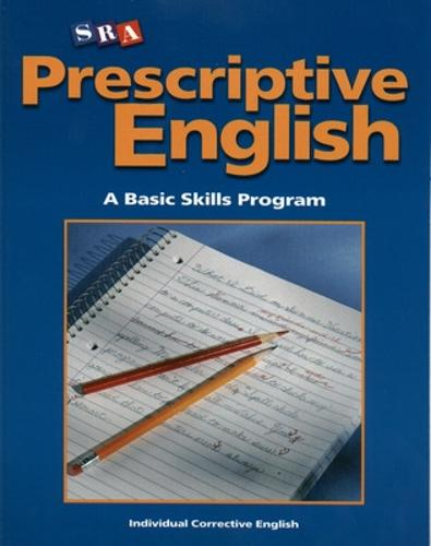 Prescriptive English, Student Edition Book C - INDIVIDUAL CORRECTIVE ENGLISH (Paperback)