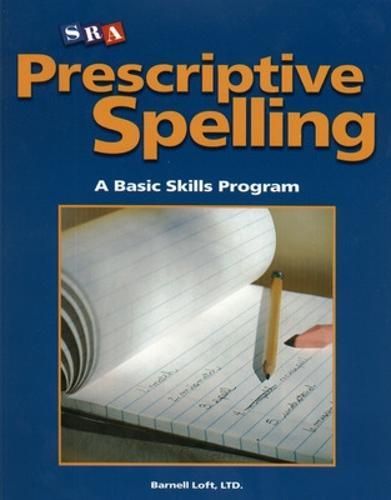 Prescriptive Spelling, Student Edition Book C - PRESCRIPTIVE SPELLING (Paperback)