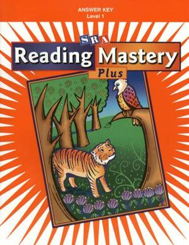 Reading Mastery 1 2002 Plus Edition, Answer Key - READING MASTERY SIGNATURE SERIES