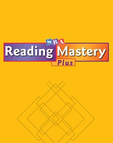 Reading Mastery Plus Grade 6, Activities Across the Curriculum - READING MASTERY LEVEL VI