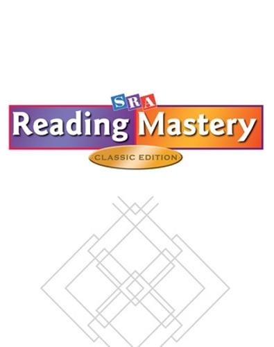 Reading Mastery Classic Fast Cycle, Benchmark Test Package (for 15 students) - READING MASTERY CLASSIC