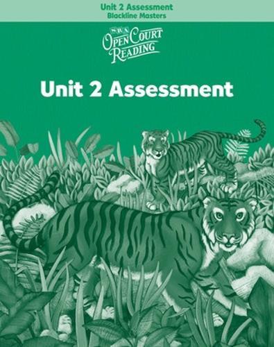 OPEN COURT READING - UNIT 2 ASSESSMENT BLACKLINE MASTERS LEVEL 2 - IMAGINE IT (Paperback)