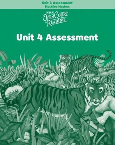 OPEN COURT READING - UNIT 4 ASSESSMENT BLACKLINE MASTERS LEVEL 2 - IMAGINE IT (Paperback)