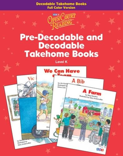 Open Court Reading, Decodable Takehome Book, 4-color (1 workbook of 35 stories), Grade K - IMAGINE IT (Paperback)