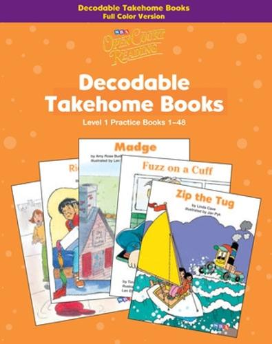 Open Court Reading, Practice Decodable Takehome Books (Books 1-48) 4-color (1 workbook of 48 stories), Grade 1 - IMAGINE IT (Paperback)