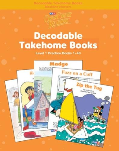 Open Court Reading, Practice Decodable Takehome Blackline Masters (Books 1-48 ) (1 workbook of 48 stories), Grade 1 - IMAGINE IT (Paperback)
