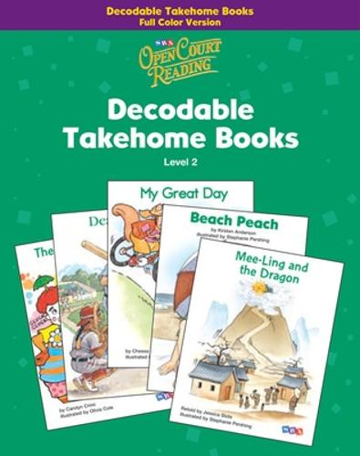 Open Court Reading, Decodable Takehome Books - Color (1 workbook of 44 stories), Grade 2 - IMAGINE IT (Paperback)