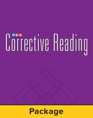 Corrective Reading Comprehension Level B2, Student Workbook (Pkg. of 5) - CORRECTIVE READING COMPREHENSION SERIES (Paperback)