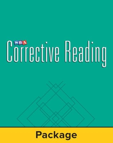 Corrective Reading Comprehension Level C, Student Workbook (Pkg. of 5) - CORRECTIVE READING COMPREHENSION SERIES (Paperback)