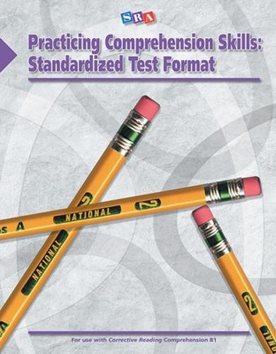 Corrective Reading: Practicing Comprehension Skills Level B1, Standardized Test Format Blackline Masters - CORRECTIVE READING CA REACH (Paperback)