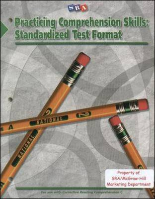 Corrective Reading: Practicing Comprehension Skills Level C, Standardized Test Format Blackline Masters - Read to Achieve (Paperback)