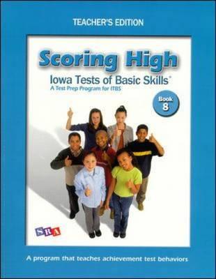 Scoring High on ITBS: Grade 8 - Scoring High on the Mat (Paperback)
