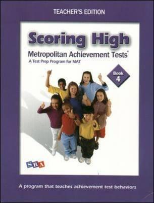 Scoring High on Mat: Grade 4 - Scoring High on the Mat (Paperback)