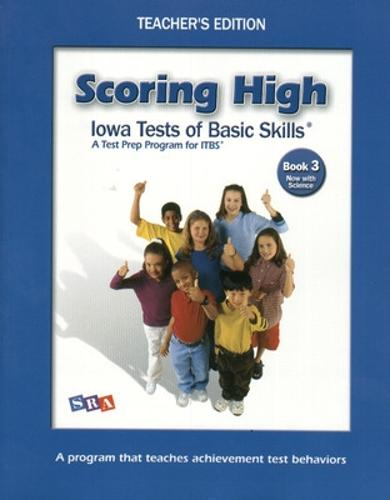 Scoring High on the ITBS, Teacher Edition with Level Poster, Grade 3 - SCORING HIGH, ITBS (Paperback)