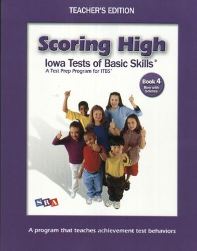 Scoring High on the ITBS, Grade 4, Teacher Edition with Tips Poster - SCORING HIGH, ITBS (Paperback)