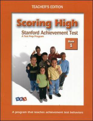 Scoring High on the MAT 8 with Poster - Grade 1 - Scoring High on the Mat (Paperback)