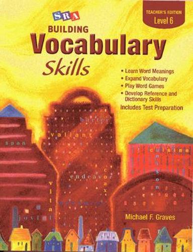 Building Vocabulary Skills, Teacher's Edition, Level 6 - SRA BUILDING VOCABULARY SKILLS (Paperback)