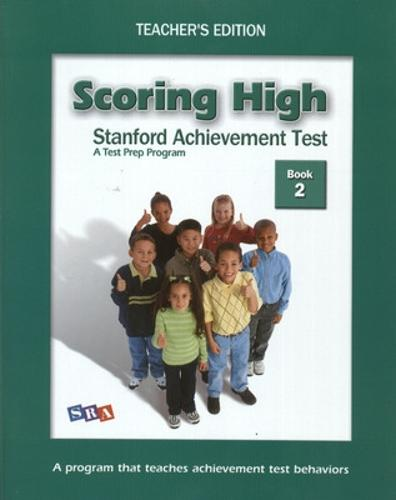 Scoring High on SAT, Teacher Edition Grade 4 - SCORING HIGH, SAT (Paperback)