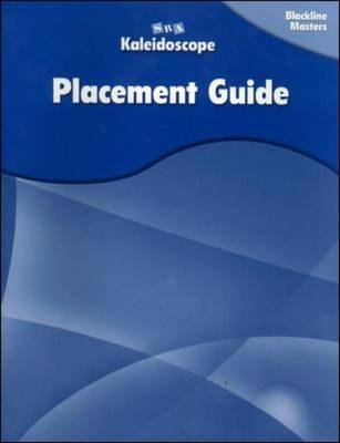 Kaleidoscope - Placement Assessment Blackline Masters - Levels A-E - OC Catching on GR 1-6 (Paperback)