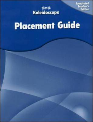 Kaleidoscope - Placement Assessment - Levels A-E - OC Catching on GR 1-6 (Paperback)