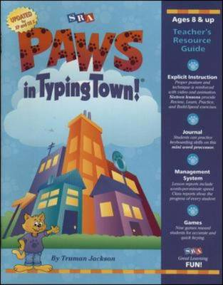 PAWs in Typing Town! - PAWS with Lang Arts 1 & 2 (Paperback)